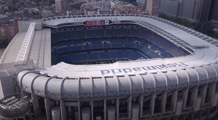 estadio bernabeu del real madrid